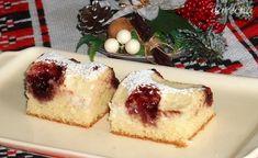 Prepadávaný koláč s tvarohom (fotorecept) - recept | Varecha.sk Sweet Recipes, Ale, Cheesecake, Cooking, Desserts, Food, Basket, Sheet Cakes, Baking