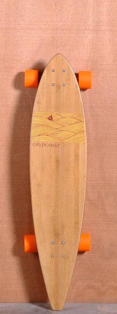 "GoldCoast 40"" Origin Longboard Complete"