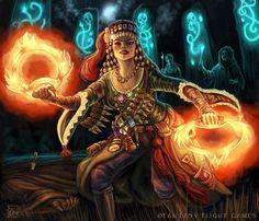 Witch Finder for Talisman by feliciacano.deviantart.com on @DeviantArt