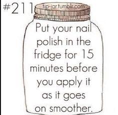 Cool nail polish fact.