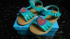 Girl'sTeal Sandal Size Toddler 5 - NWB! Cute! #Sandals