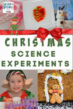 Christmas Science Experiments for kids. Festive collection of easy Christmas Science experiments for kids. Make Grinch slime, spiced apple cider, marshmallow snowmen and lots more Christmas Science Experiments Science Experiments Kids, Science For Kids, Science Projects, Play Based Learning, Fun Learning, Learning Activities, Simple Christmas, Christmas Ideas, Christmas Crafts