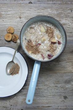 Quinoa Power Porridge-  good starter recipe.  I will use less apples or softer variety next time but overall, gave me the energy I needed!  Could definitely adjust to taste.