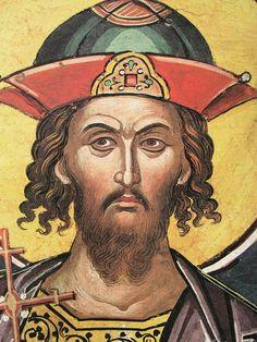 Paint Icon, Byzantine Icons, Orthodox Icons, Vignettes, Notre Dame, Saints, Sketches, Sketchbooks, Warriors