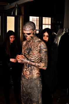 he is flawless to me Torso Tattoos, Boy Tattoos, Body Art Tattoos, Tattoos For Guys, Tatoos, Rick Genest, Justin Bieber Posters, Full Body Tattoo, Body Modifications