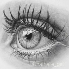 regram Good ole' graphite eye drawing by - wo. Cool Art Drawings, Pencil Art Drawings, Art Drawings Sketches, Eye Drawings, Eye Drawing Tutorials, Art Tutorials, Pencil Portrait, Portrait Art, Realistic Eye Drawing