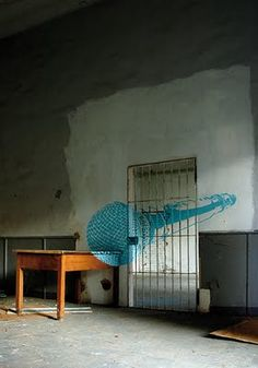 MIC anamorph art by ninja1