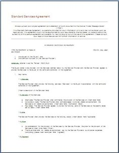 get it service agreement template forms free printable - Maintenance Service Contract Sample
