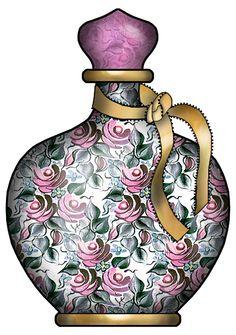 ArtbyJean - Bottles: *TWO RINGS - Ribbon