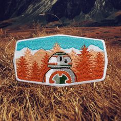 BB-8 Star Wars Patch | For The Love of Patch