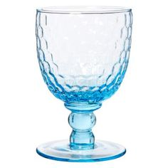£5.95 - Sky Opera Wine Glass. This wine glass comes in a sky blue, evocative of Veronese's rich palette, and features a beautiful raised honeycomb texture across the chalice. This wine glass lets you enjoy a drop of your favourite tipple in style.