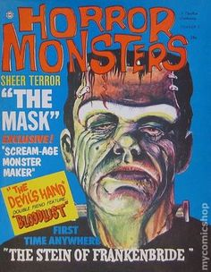Sci Fi Horror, Horror Books, Horror Comics, Horror Films, Horror Art, Charlton Comics, Design Comics, Halloween Icons, Horror Monsters