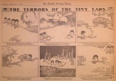 Gustave Verbeek – The Terrors of the Tiny Tads (1908)