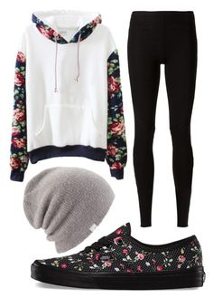 """""""Untitled #350"""" by pinkunicorn007 ❤ liked on Polyvore featuring Rick Owens Lilies, Vans and Coal"""