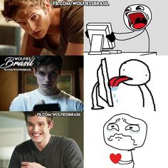 This was me when I saw Isaac