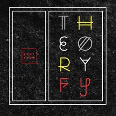 Brand new on the shop ! Theory FY Typevector shop.fontyou.com #typography #type #typedesign #vector #fontyou