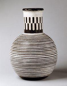 Vase Maija Grotell  (American (born Finland), Helsinki 1899–1973 Pontiac, Michigan)