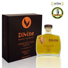 Show details for Devine Mount Olympus Premium Extra Virgin Olive Oil 500ml
