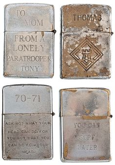 soldiers engraved zippo lighters from the vietnam war Zippo Lighter, Vietnam  Veterans, Vietnam War 74152a47745