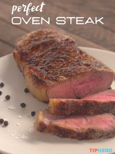 Yes, you read that correctly— oven steak! It might sound crazy to all of you grill aficionados, but hear us out. Whether it's raining, you're out of fuel, or you simply want to try something new, there are actually plenty of reasons to use your oven to cook that steak you're craving. If you follow our method, it's guaranteed to be cooked and seasoned to perfection. Plus, it's really quick! Check it out!