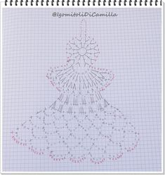 Ela Klementowicz's 860 media content and analytics - Her Crochet Crochet Christmas Ornaments, Holiday Crochet, Crochet Snowflakes, Christmas Bells, Crochet Home, Christmas Angels, Knit Crochet, Christmas Crafts, Crochet Backpack Pattern