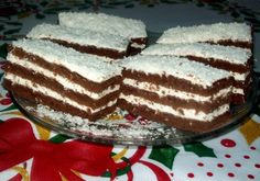 Paleo, Hungarian Recipes, Cake Cookies, Tiramisu, Frozen, Cooking Recipes, Sweets, Breakfast, Ethnic Recipes