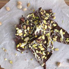 Pistachio Belgian Chocolate Bark