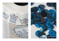 puntocroce e fantasia: acufatum ed il blu