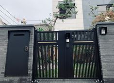 [055] 인천 논현동 - 주택 금속 대문 : 네이버 블로그 Door Gate Design, Garage Doors, Outdoor Decor, Home Decor, Decoration Home, Room Decor, Interior Design, Home Interiors, Interior Decorating