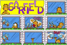 Garfield | Daily Comic Strip on February 25th, 1996