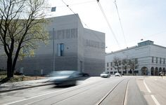 The Kunstmuseum Basel, with its new building on the left. (Photograph by Julian Salinas.)