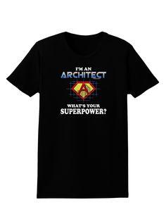 Architect - Superpower Womens Dark T-Shirt