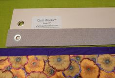 Musing Crow Designs: Quilt Sticks. A Happy Tool For Cutting Fabric.