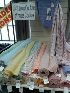 Tissus à Paris - tous les magasins