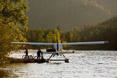 Float plane.... http://www.browsetheramp.com/