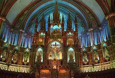 Inside Notre Dame Cathedral, France