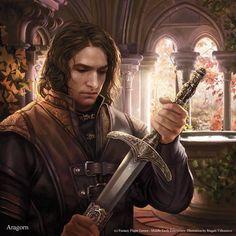 Aragorn (Andúril boon card lotr lcg)