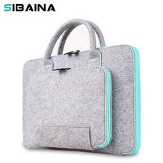 0983aa01bb0 Wool Felt Universal Notebook Computer Laptop Sleeve Bag Case 11 12 13 15  15.6