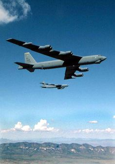 US aircraft like these B-52 bombers routinely carried fully-primed nuclear weapons during the Cold War