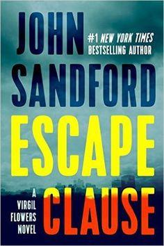 Escape Clause (Virgil Flowers #9) by John Sandford   ⭐️ 3.0 stars