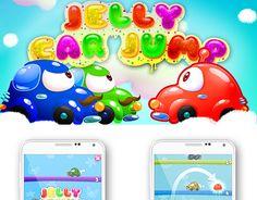 "Check out new work on my @Behance portfolio: ""Дизайн игры JellyCarJump"" http://be.net/gallery/53571075/dizajn-igry-JellyCarJump"