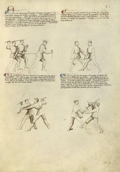 Combat with Dagger and Sword  late 1300s, Fiore Furlan dei Liberi da Premariacco, instructs the reader in the intricacies of combat
