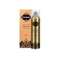 FAKE BAKE Instant Self-Tanning Spray 7 oz. by Fake Bake. $28.95. Highest Quality Tan available. FAKE BAKE Instant Self-Tanning Spray creates a flawless airbrush tan which penetrates the skin for long-lasting color. Easy application and fast drying. Specially designed air-shaft sprayer provides a fine even mist for any angle of the body, even the hard-to-reach places. 7 oz.