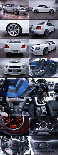 2005 Subaru Impreza WRX STi AWD Turbo All Wheel Drive SEDAN!FAST SEDANs