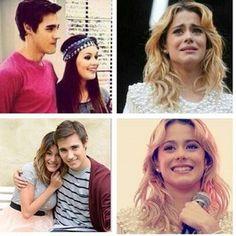 #Violetta2 Leonara VS Leonetta  I agree Tini!