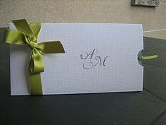 lovely way to do a wedding invitation