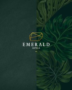 "Echa un vistazo a este proyecto @Behance:""EMERALD HOTELS Logo Design"" https://www.behance.net/gallery/43667051/EMERALD-HOTELS-Logo-Design"