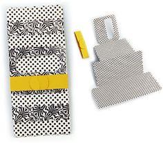 Silhouette Online Store - View Design #27318: accordion card scalloped edge