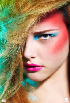 Airbrush Beauty Editorial for Volt Cafe