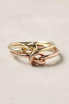 Endless Knot Ring Set ($20-50) - Svpply